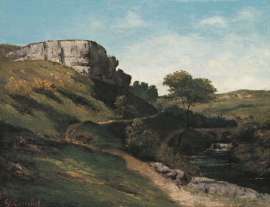 Courbet-Paysage